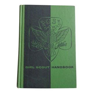 Vintage 1950s Girl Scout Handbook