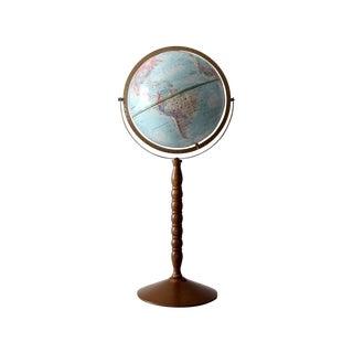 1970s Replogle Globe on Stand
