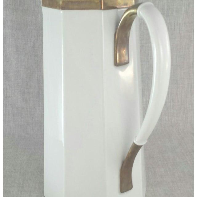 Geometric Octagonal Coffee Pot - Image 7 of 9