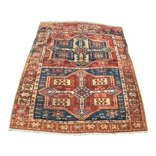 Antique Turkish Gaziantep Rug - 3'9 X 5'3
