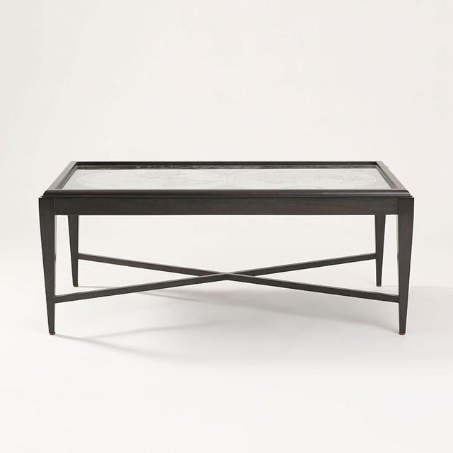 Inset World Map Explorer Coffee Table - Image 2 of 6