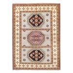 Image of Apadana - Gray & Pink 6 x 8 Kazak Rug