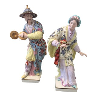 Chinoiserie Figurines by Chelsea House - Pair