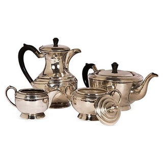 Silver Coffee & Tea Set - Set of 4