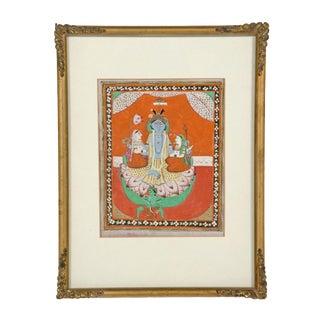 Framed Indian Miniature