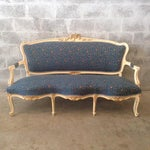 Image of French Settee, Louis XVI Style