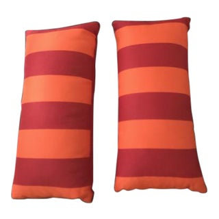 Rectangle Decorative Pillows With Donghia Fabric - A Pair