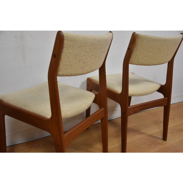 Teak Dining Chairs - Set of 4 - Image 11 of 11