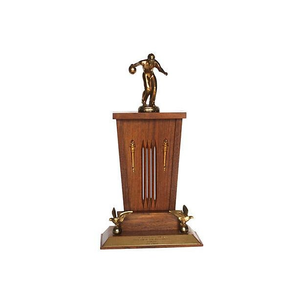 Image of 1962 Mid-Century Bowling Trophy