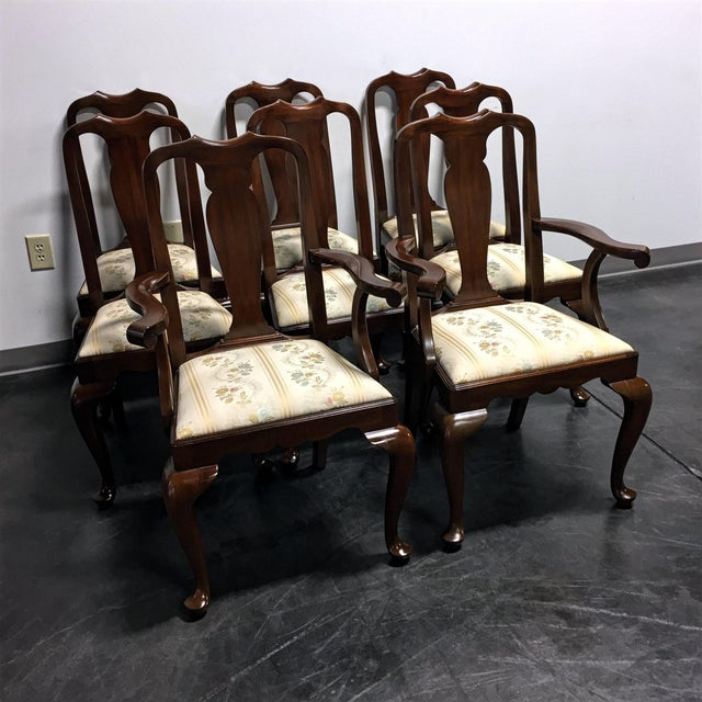 Henkel Harris Dining Room Furniture: Henkel Harris Solid Mahogany Dining Chairs