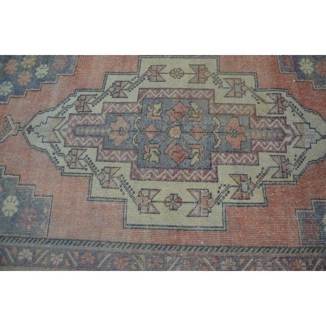 Turkish Tribal Floor Rug - 4′9″ × 8′10″ - Image 5 of 6