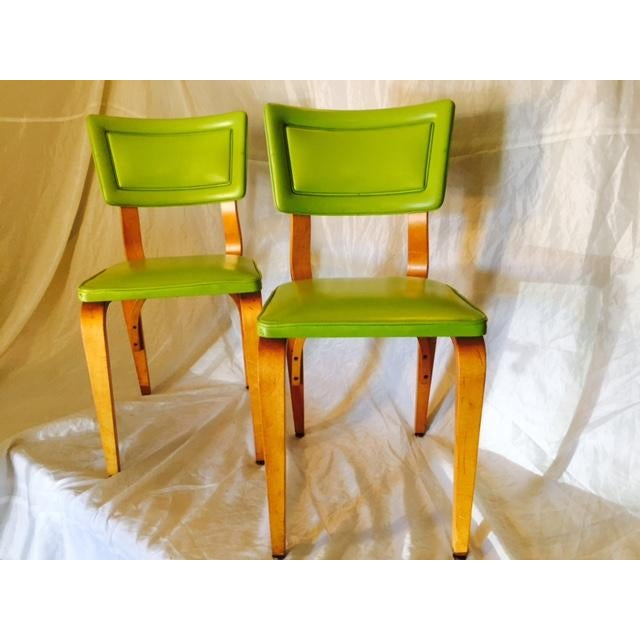 Vintage Mid-Century Original Thonet Chairs - Image 5 of 6
