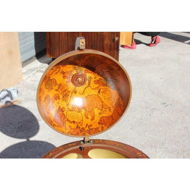 1950s French Art Deco Style Globe Bar - Image 5 of 11