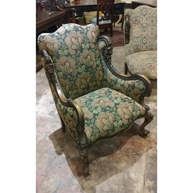 19th Century Victorian Tapestry Chairs - A Pair - Image 3 of 10