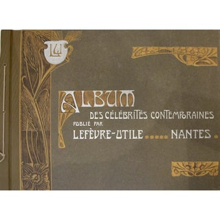 Complete Album Vintage French Biscuits LU Postcards, 1905