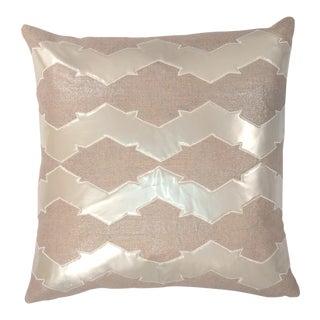 """Piper Collection Metallic Linen """"Lauren"""" Pillow"""