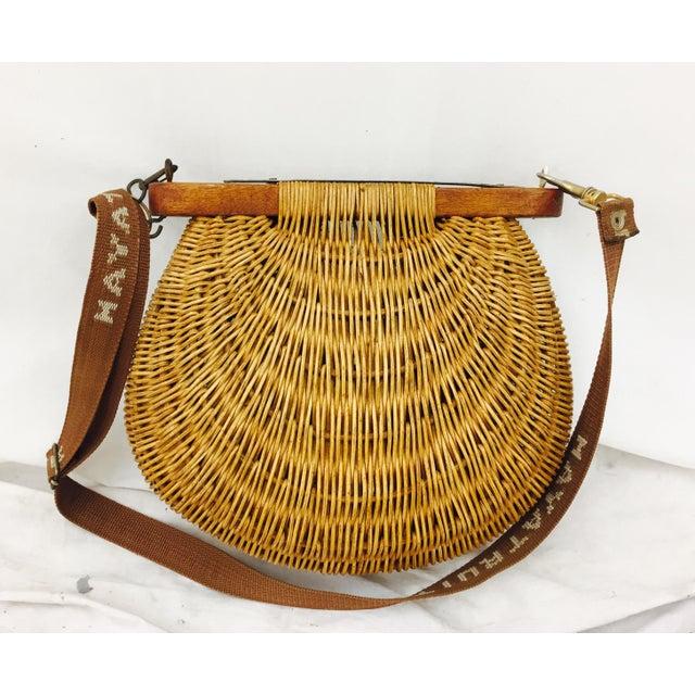 Image of Vintage Trout Fishing Basket
