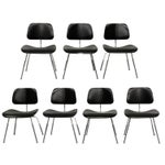 Image of Herman Miller Eames DCM Mid Century Chairs - 7