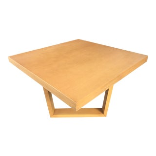 Paul Frankl by Brown Saltman Square Oak Coffee Table