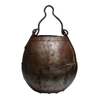 Vintage Handmade Metal Bucket