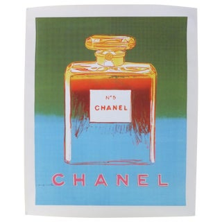 Vintage Andy Warhol Chanel Poster