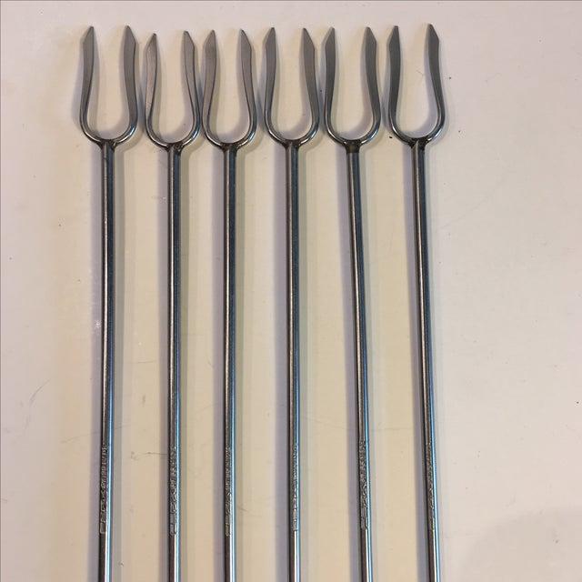 Image of Perk Swiss Stainless Steel Fondue Forks - Set of 6