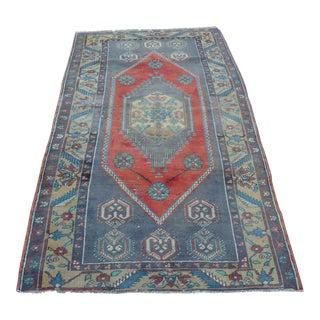 Anatolian Wool Turkish Rug - 3′4″ × 6′9″