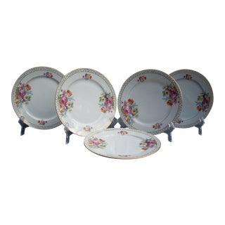 Japanese Dessert Plates - Set of 5