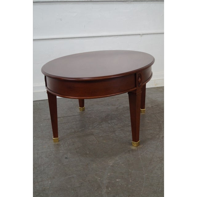 Harden Solid Cherry Regency Style Coffee Table