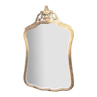 Antique French Gilt Gesso Mirror