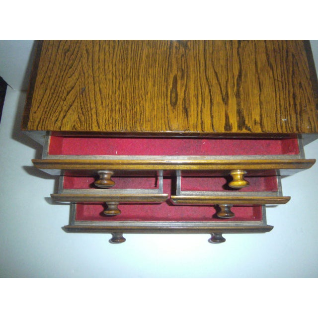 Image of Hand Made Vintage Jewelry Chest