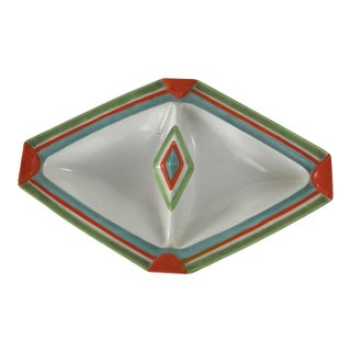 Art Deco Divided Serving Plate