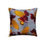 Image of Harp African Print Pillows - a Pair