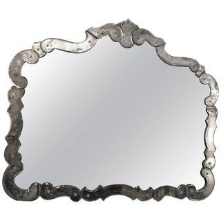 1930's Venetian Style Vanity / Mantel Mirror