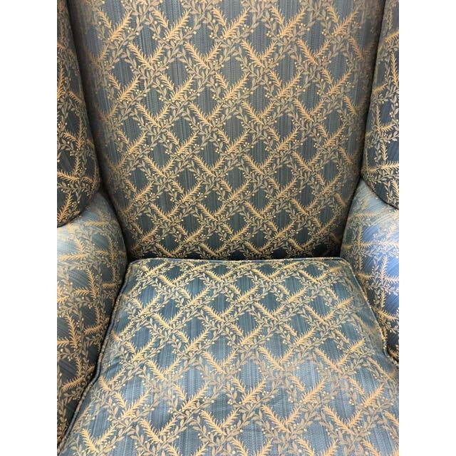 George Smith Wingback Chair - Image 8 of 8