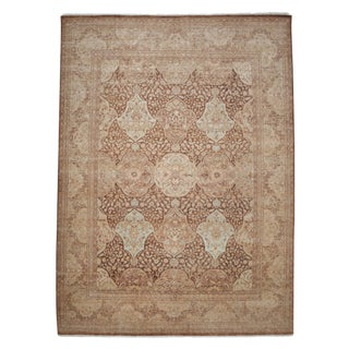 """Oushak Hand Knotted Area Rug - 9'1"""" X 12'5"""""""
