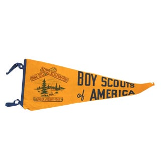 Boy Scouts of America Felt Flag