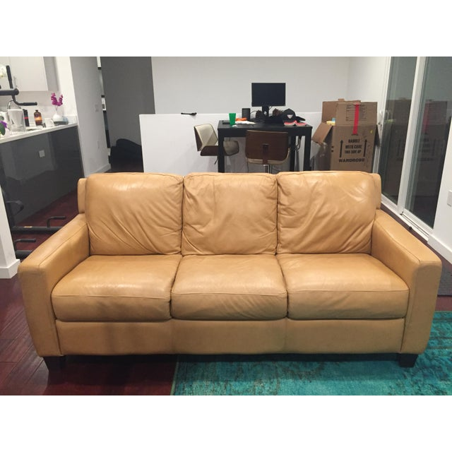 Lot # : 61 - Divani Chateau d'Ax Italian Leather Sofa