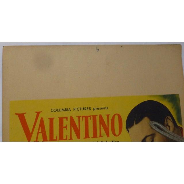 1950s Valentino Movie Lobby Card - Image 10 of 11