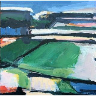 Black Dirt Field III Painting by Heidi Lanino