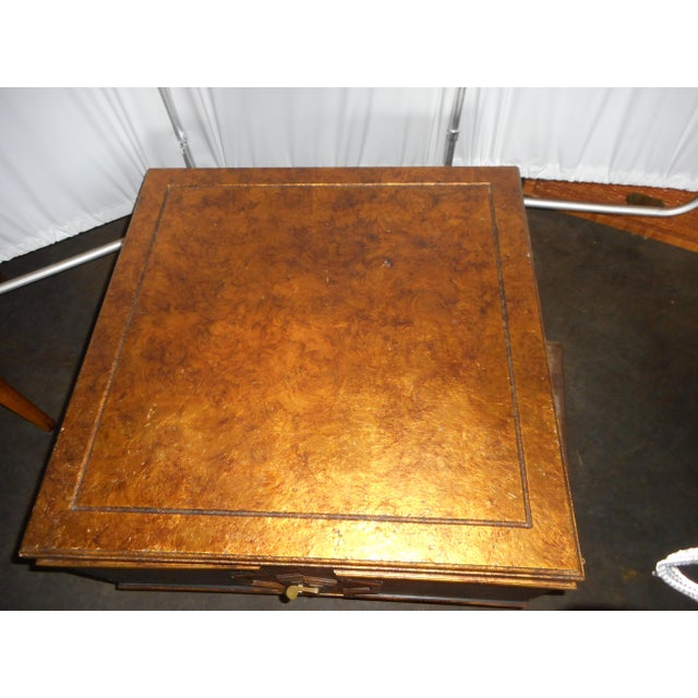 Black Asian Square Table - Image 5 of 7