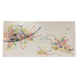Steve Barylick Colorful Abstract Painting