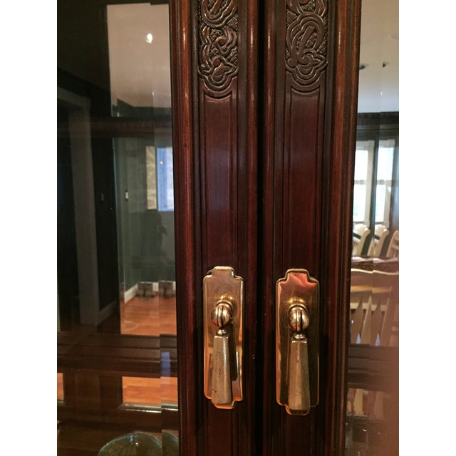 Bernhardt Credenza and China Cabinet - Image 7 of 7