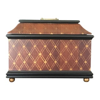 Dessau Home Elegant Harlequin Wood Box