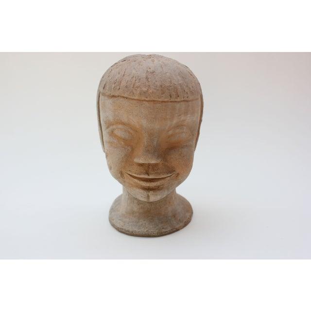 Vintage Studio Pottery Head Bust - Image 2 of 8