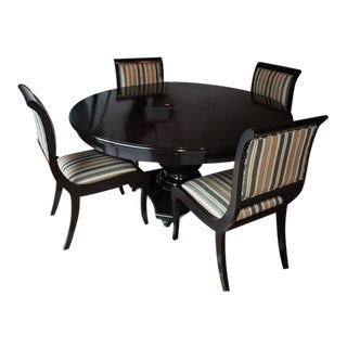 Plantation Designs Solid Alder Dining Table & Chairs