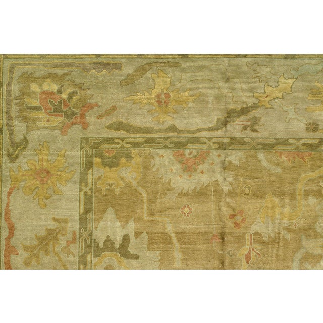Turkish Oushak Rug - 12'4'' x 16'2'' - Image 4 of 6