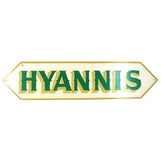 Hyannis Massachusetts Cape Cod Sweet Shop Sign