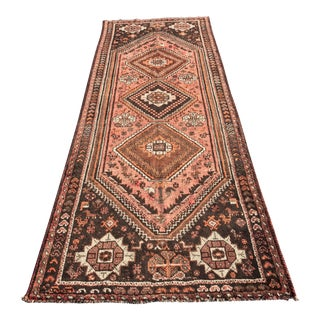 "Vintage Persian Shiraz Runner - 3'7"" x 9'9"""