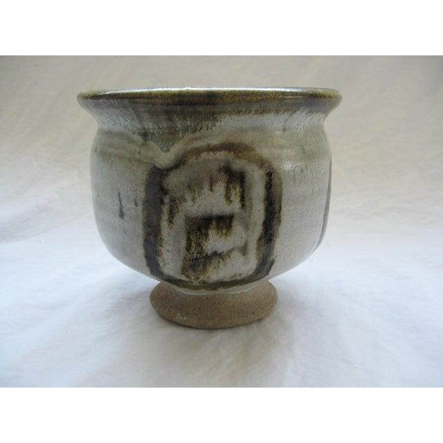 Mid-Century Studio Pedestal Bowl - Image 4 of 6
